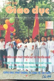 Tạp chí Giáo dục năm 2001