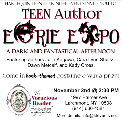 TEEN Author Eerie Expo
