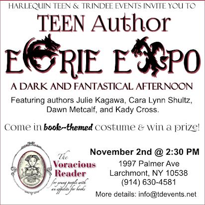 TEEN Author Eerie Expo