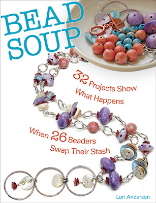 Lori Anderson 'Bead Soup' project book
