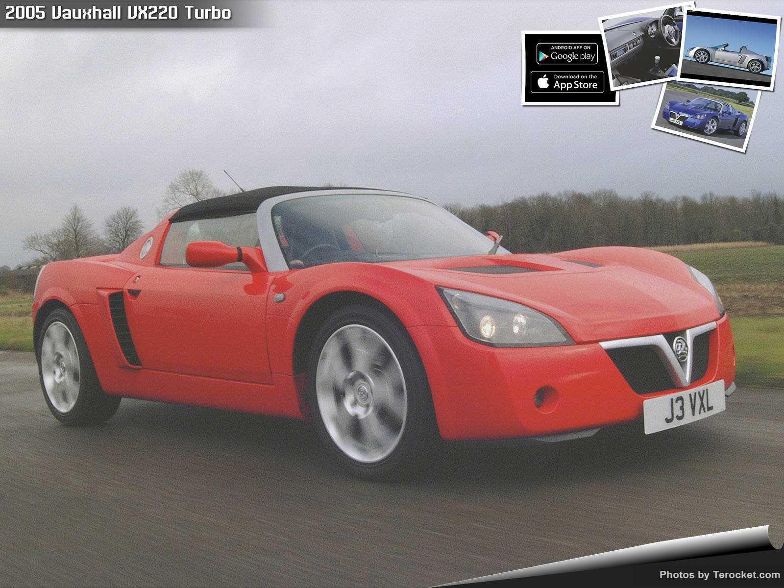 Hình ảnh xe ô tô Vauxhall VX220 Turbo 2005 & nội ngoại thất