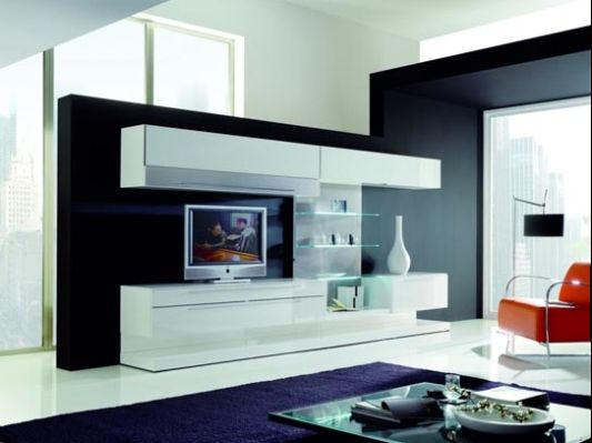 Lcd tv cabinet furniture designs an interior design for Latest cupboard designs