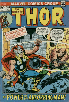 Thor #206, the return of the Absorbing Man