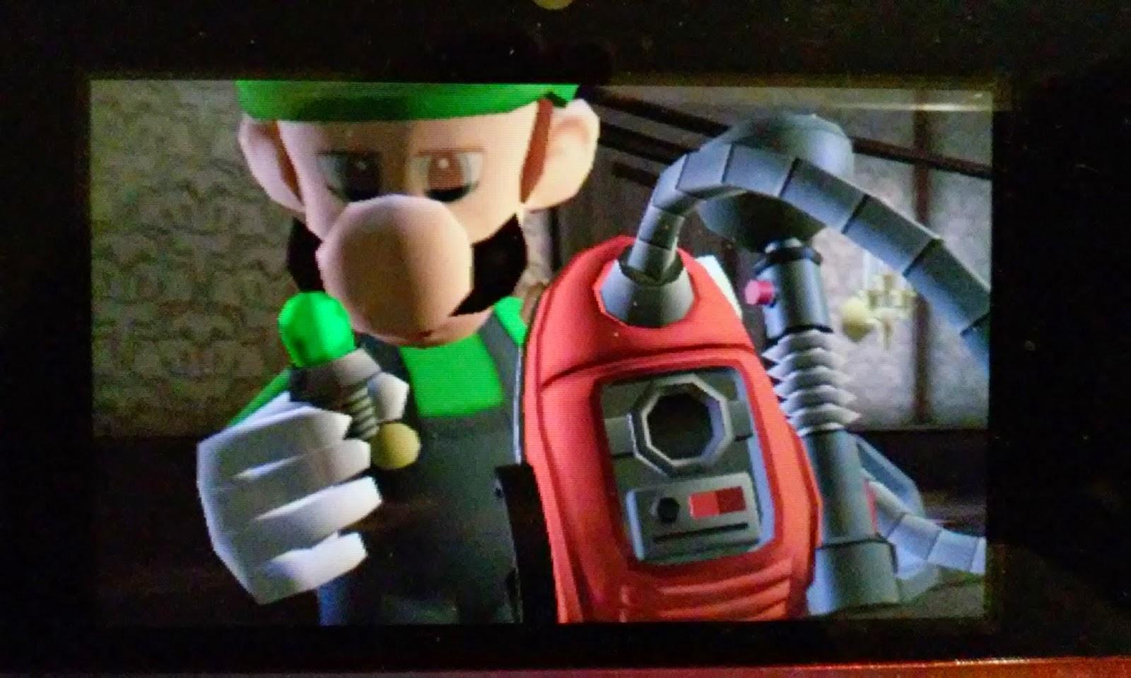 Whatsoever Critic Luigis Mansion Dark Moon Playthrough Gloomy