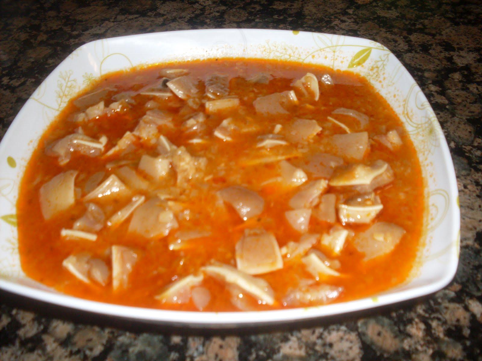 Una ijana en mi llar oreja en salsa de callos for Cocinar oreja de cerdo
