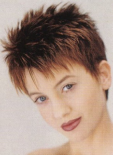Short Spiky Hairstyles Pictures
