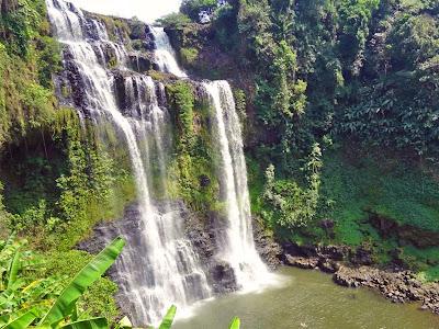 Tad Yuang Falls Bolaven Plateau in Laos
