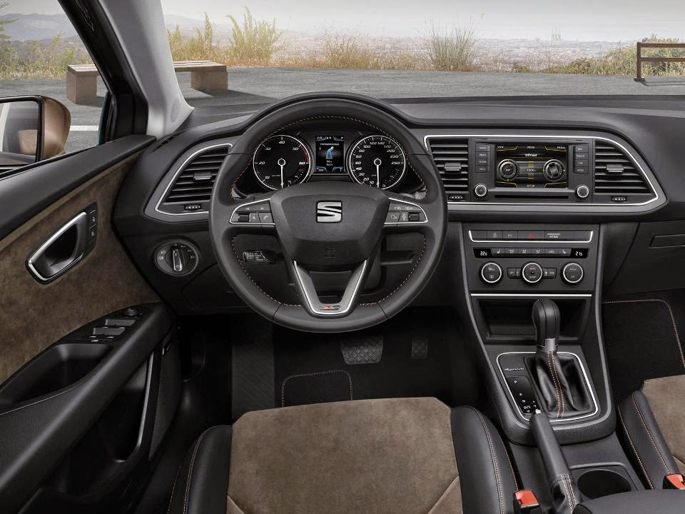 Seat announced the offroad version of Leon ST X-Perience interior