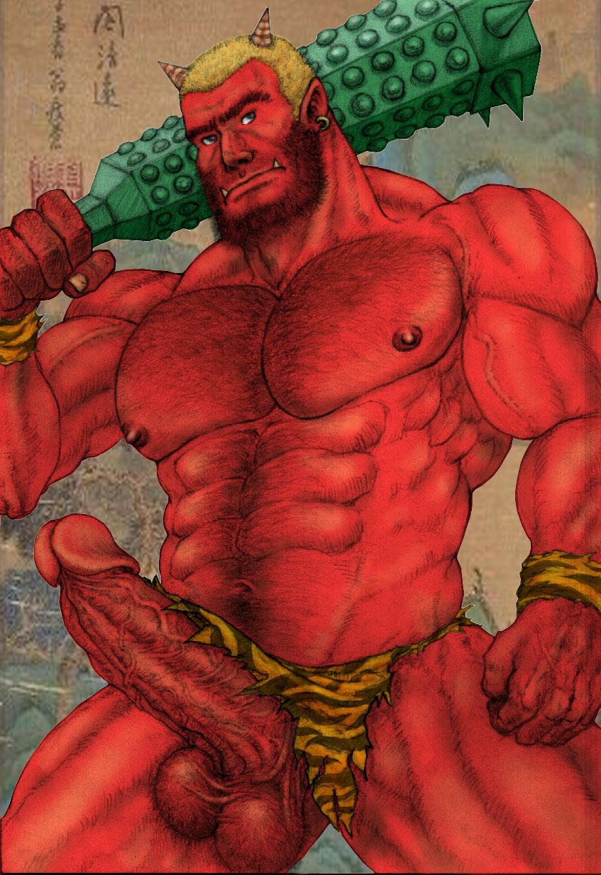 Gay naked combat