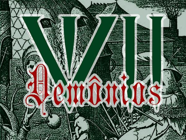 VII Demônios. vol. 1: Inveja, Leviathan - vários autores, Editora Estronho