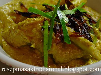 Resep Cara Membuat Opor Ayam (Yogyakarta)