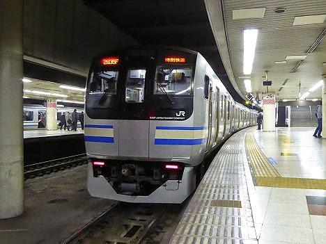総武本線・内房線 特別快速 東京行き E217系