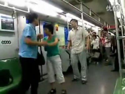 Shangai e nordestino no metro