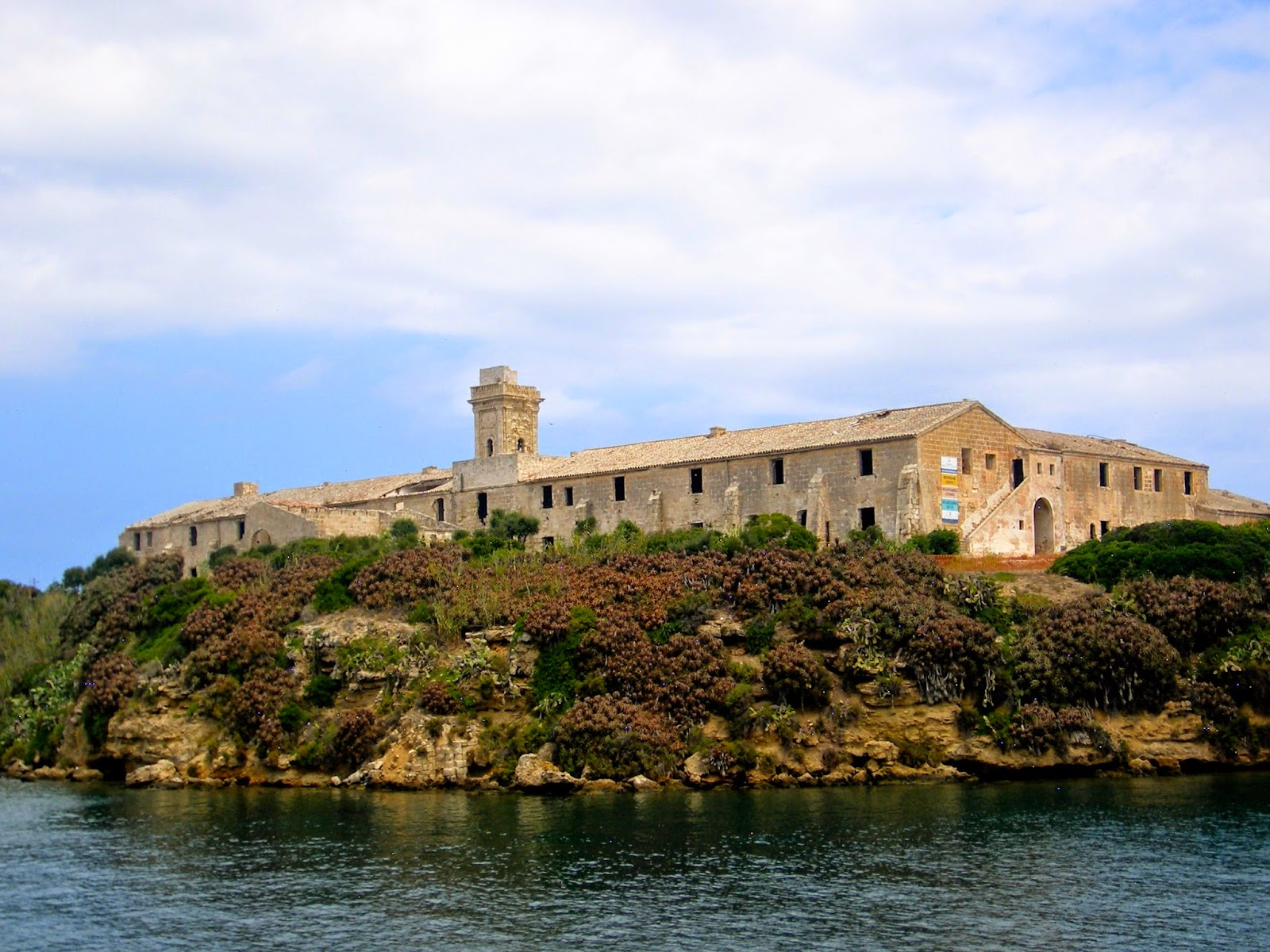 Travel Inspiration | Menorca, Spain | prison island in Mahon harbour