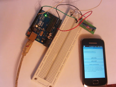 LED Blinking With Android