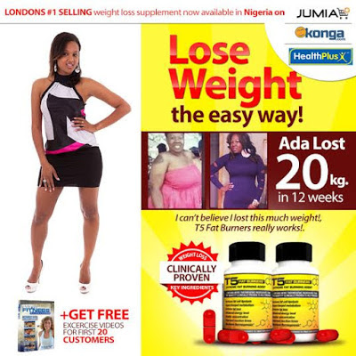 Use T5 Fat Burners To Lose That Weight Forever Sold On Jumia
