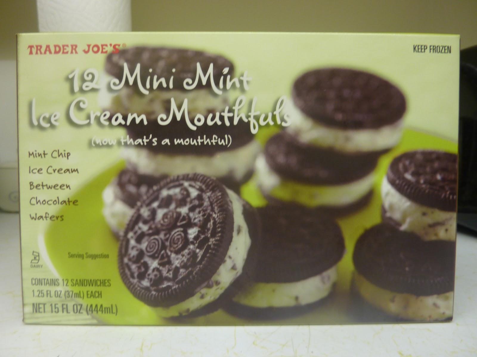 What's Good at Trader Joe's?: Trader Joe's Mini Mint Ice Cream ...