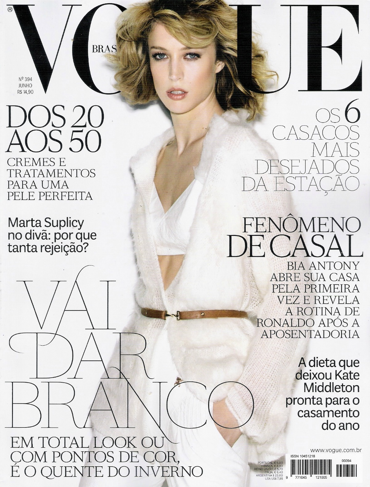 Hottest Magazine Covers: Nude(nu) Raquel Zimmermann on