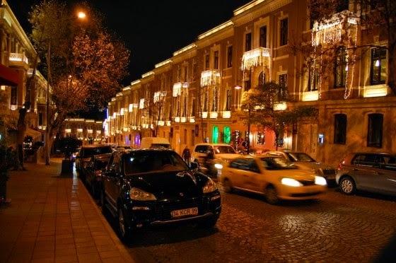 شارع Akaretler الفخم في اسطنبول
