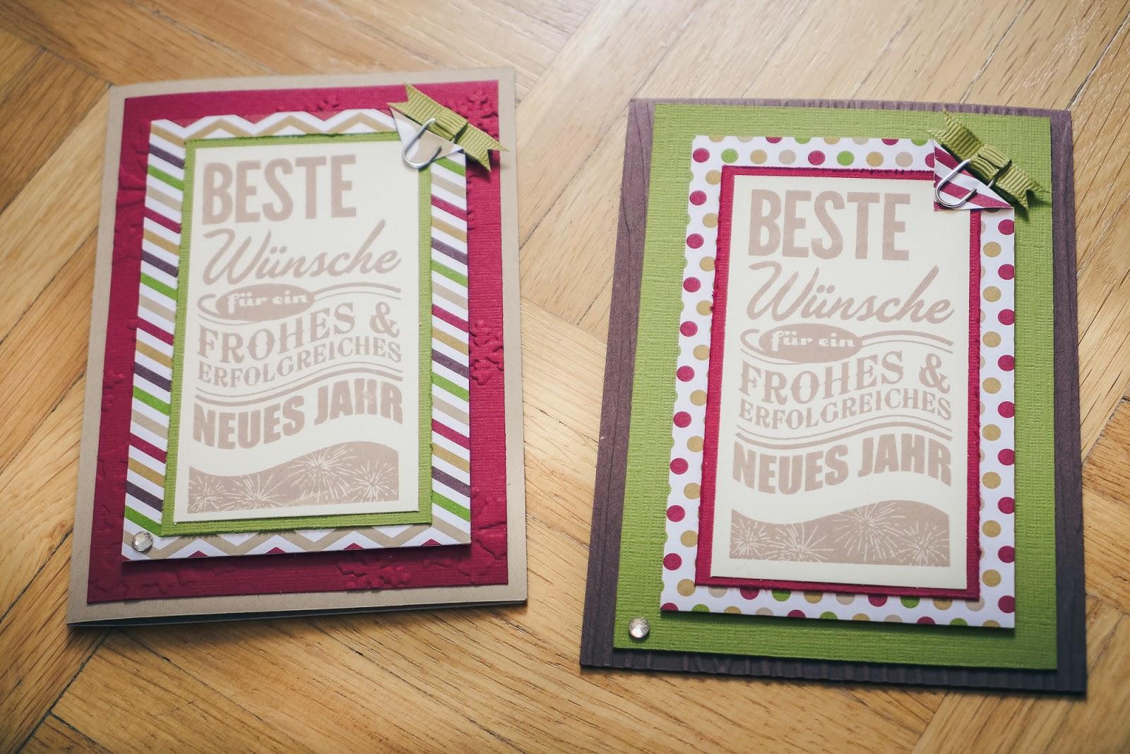 Meine Bunte Welt Selbstgebastelte Weihnachtskarten Verschicken