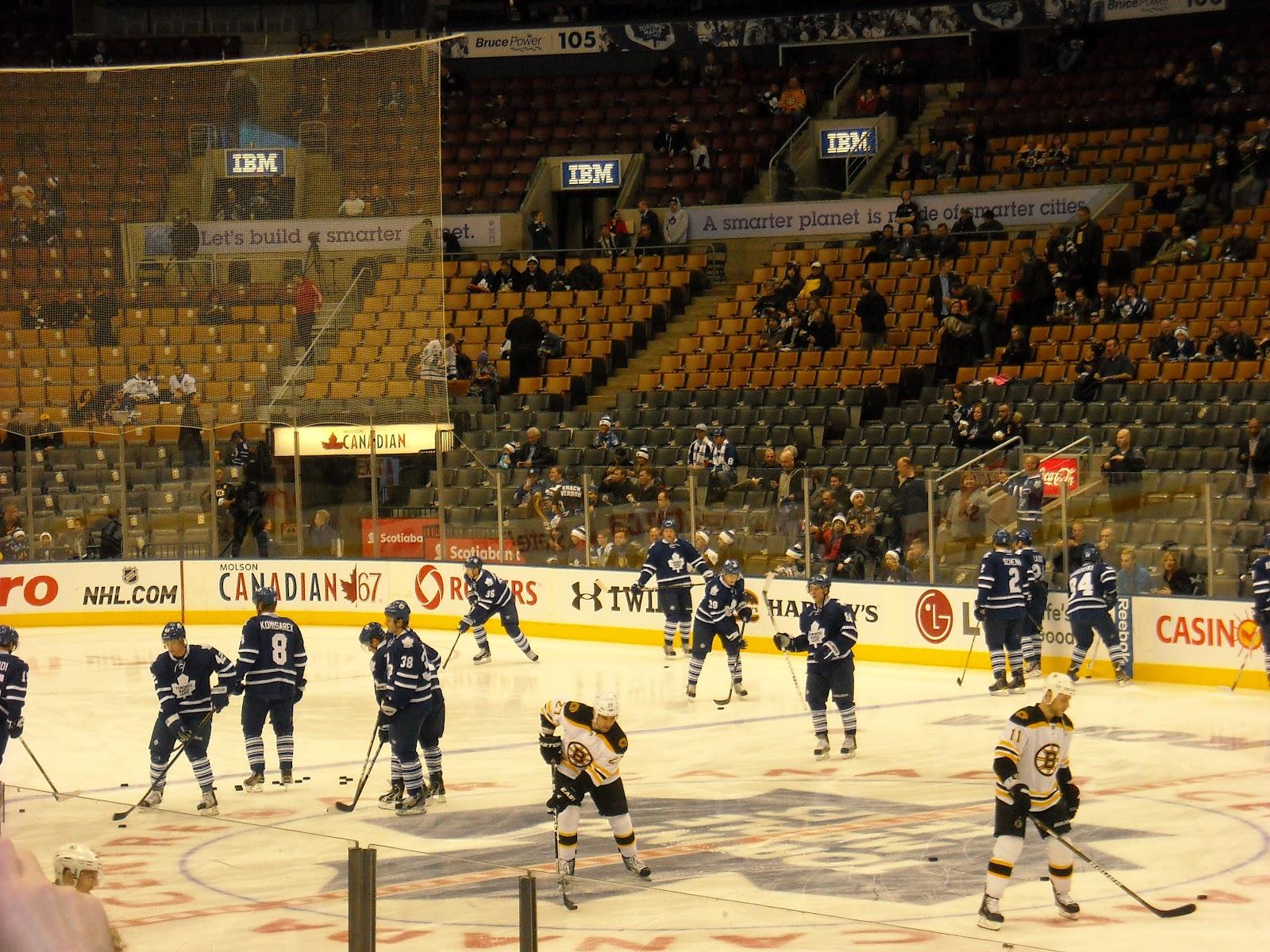 Hockey Then & Now: Original Six: Boston vs. Toronto