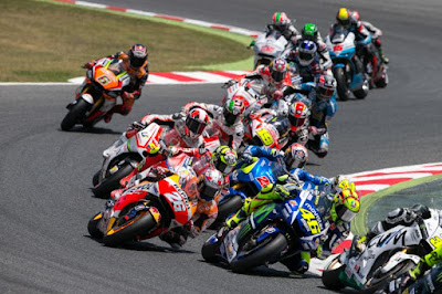 Kronologi Jalannya Race Catalunya, Spanyol 2015