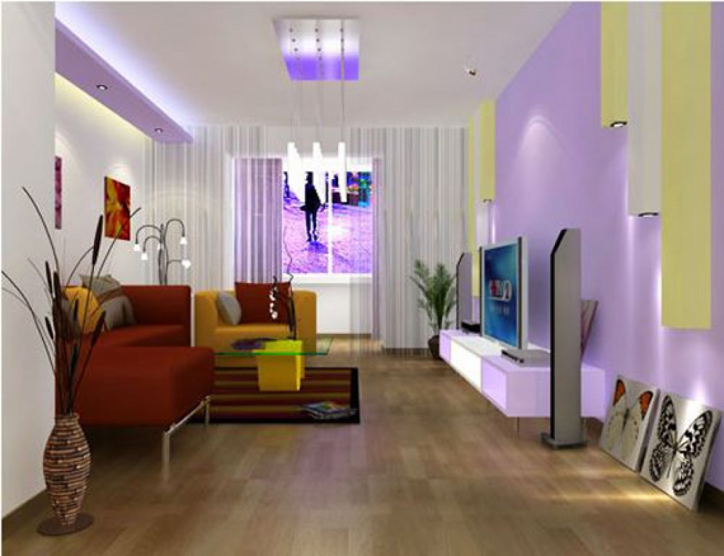 Inspirational of home interiors and garden the right for 1 bhk living room interior