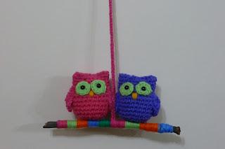 Regalos  Cactus Y Buhos Al Crochet