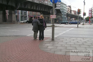 Veloroute 12, Rödingsmarkt / Ludwig-Erhard-Straße