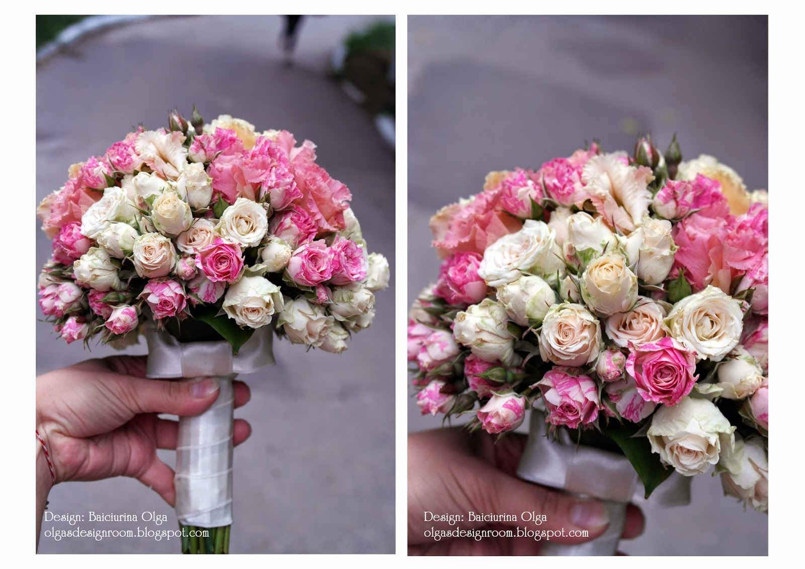 Букет невесты из кустовой розы своими руками 38