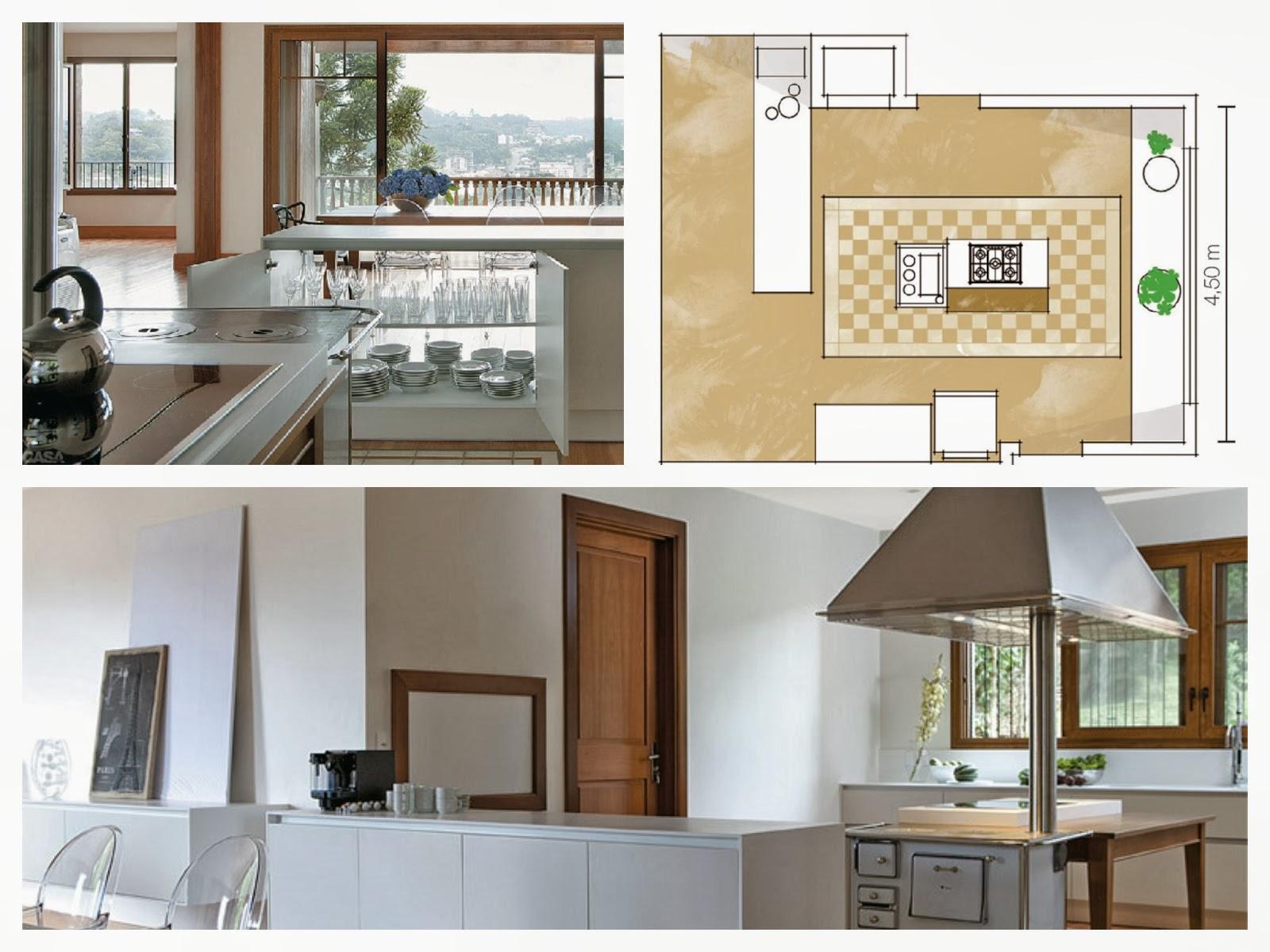 Cozinha toda branca aindaé clássico o armário abre para ambos os  #8B7240 1600 1200
