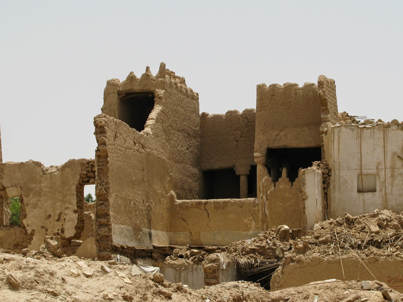 Saudi Arabia The Mud Houses Of Old Riyadh Minor Sights