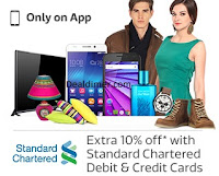 Extra 10% off* with Standard Chartered Debit and Credit Card s