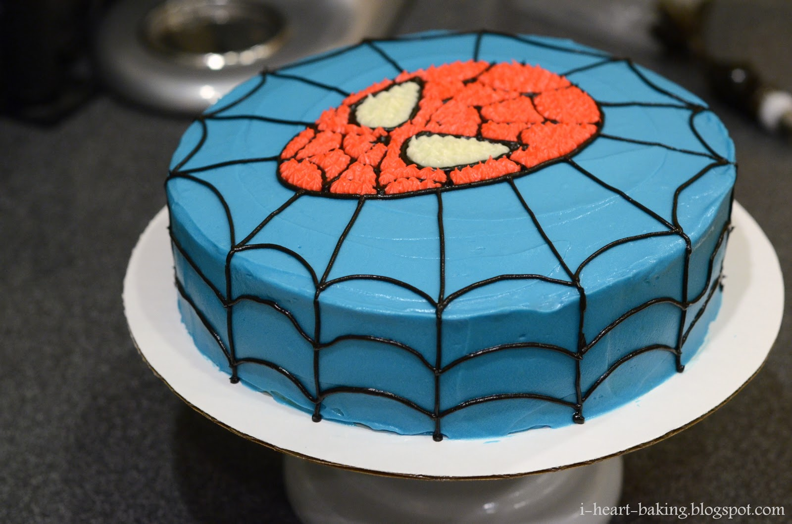 Children S Birthday Cake Designs Recipes : i heart baking!: spiderman birthday cake