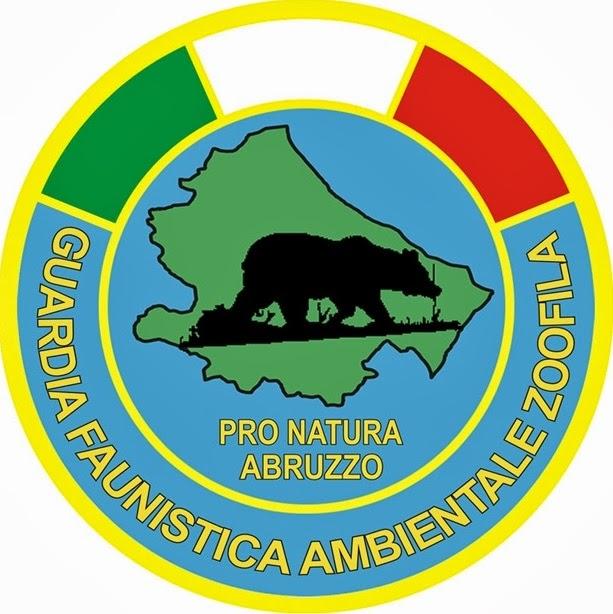 Logo delle guardie faunistiche ambientali zoofile di Pro Natura Abruzzo