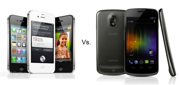 Galaxy Nexus ICS VS iPhone 4S