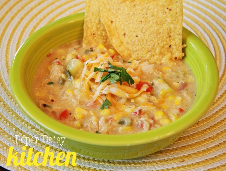 Spicy Corn Soup Recipe — Dishmaps