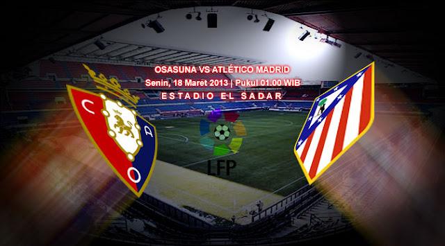 Prediksi Skor Osasuna vs Atletico Madrid