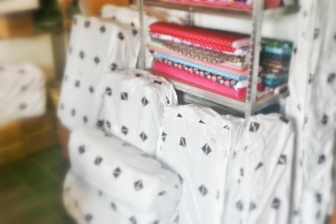 Swafing Stoff Hausmesse emmeline einkauf neuss norf stoffladen