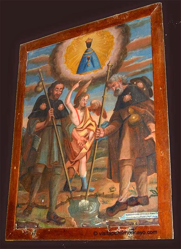Lienzo del Milagro de los Peregrinos Ermita Nuestra Señora Puy Mallen