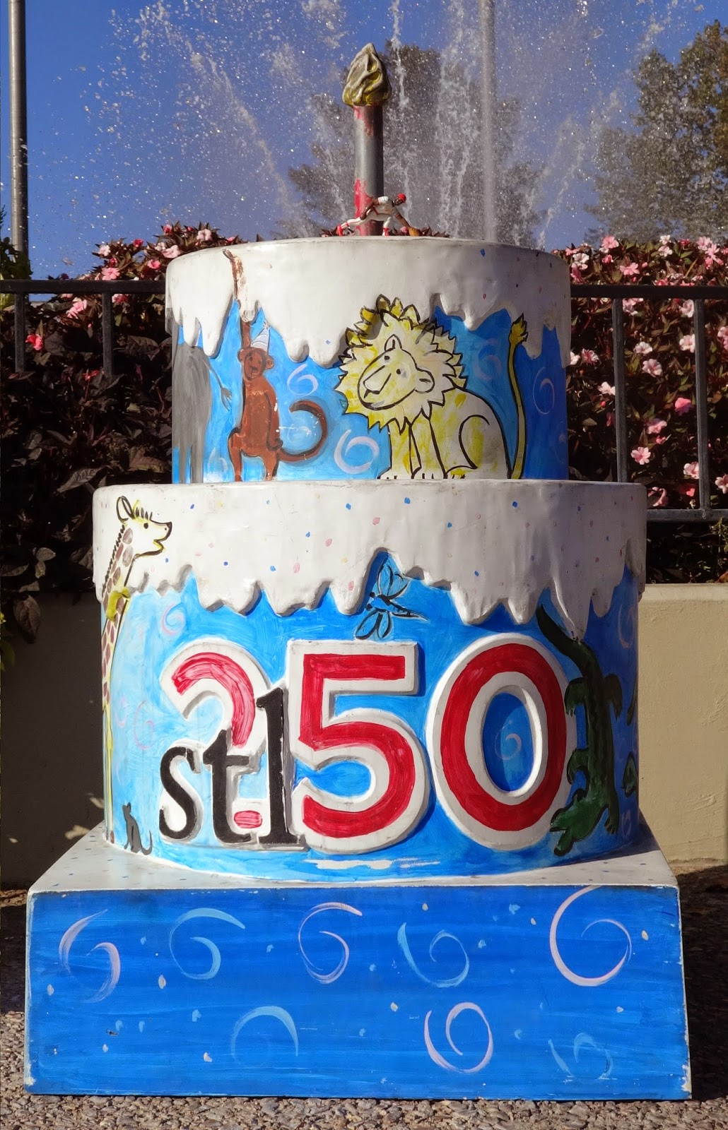 St Louis 250 Years 250 Cakes Here we go 255 Six Flags St
