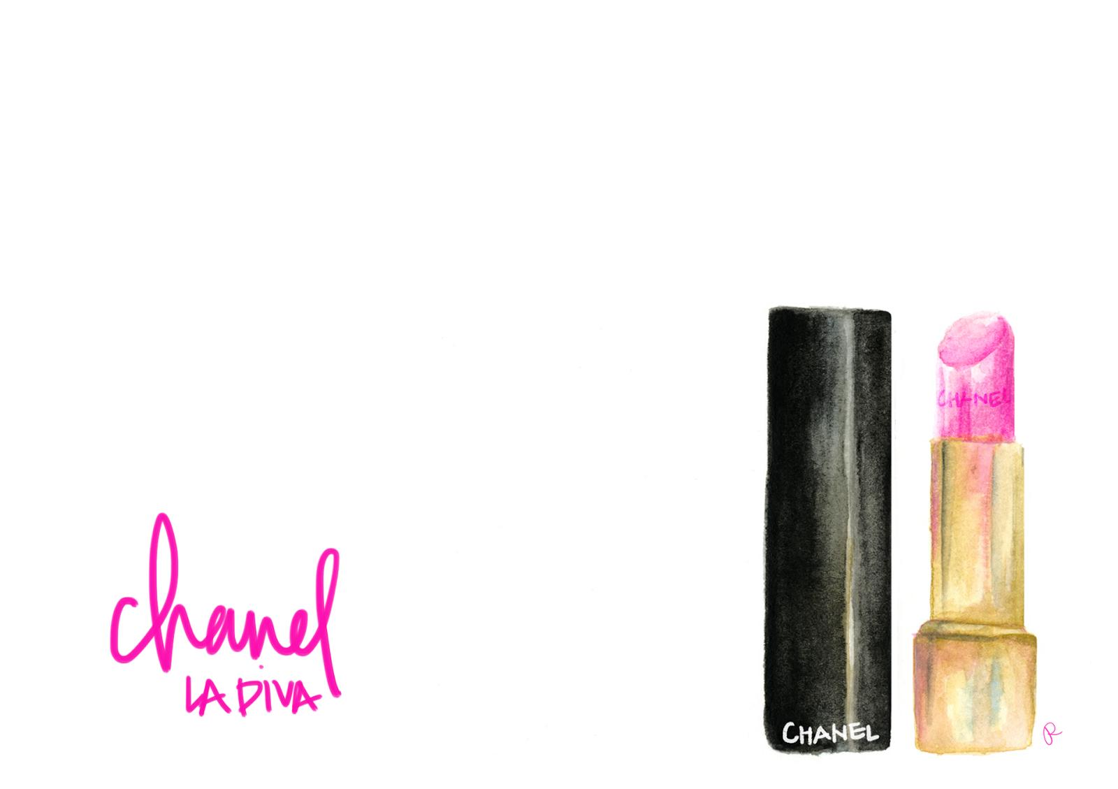 Chanel la Diva Lipstick Review Chanel la Diva Lipstick