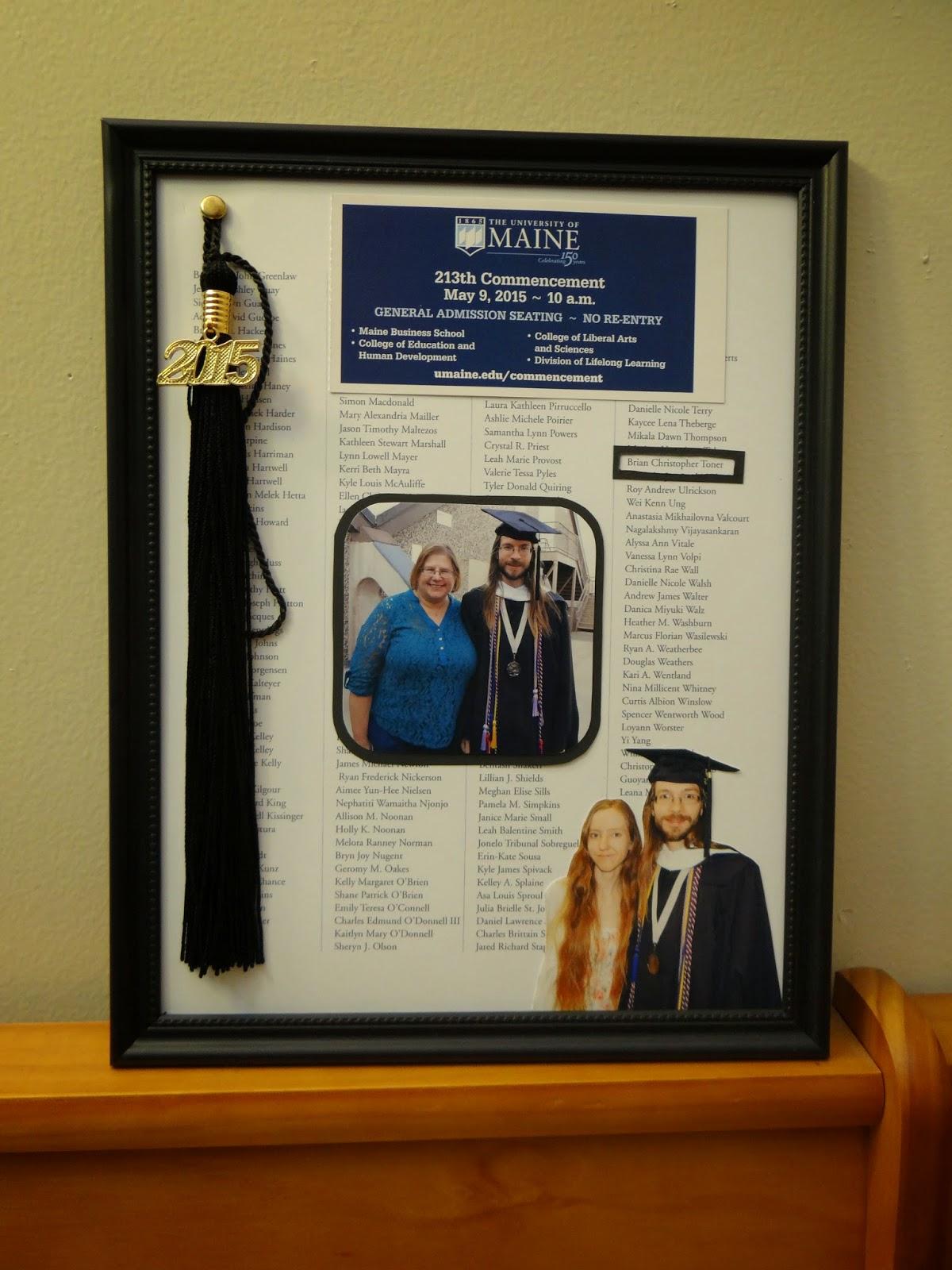 Amber\'s Craft a Week Blog: A Third Graduation Photo Frame and Tassel ...