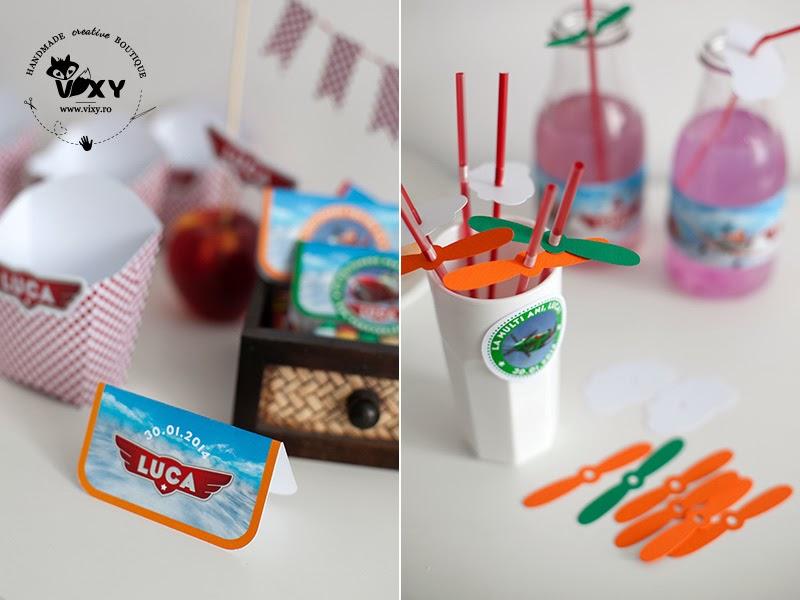 petrecere tematica aviaone, petrecere tematica planes, etichete avioane, etichete personalizate prajituri, petrecere planes, petrecere avioane