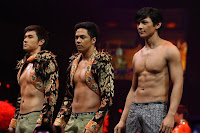 Steven Silva, Sam Concepcion and Joseph Marco