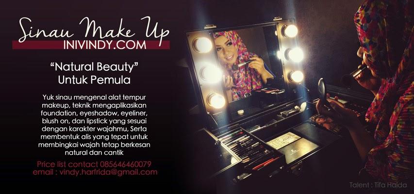 Mencari Kursus Make Up Di Malang Untuk Pemula? Yuk Join Sinau Make Up Bareng Inivindy.Com