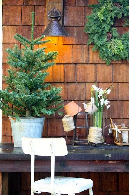 navidad decoracion rustica vintage