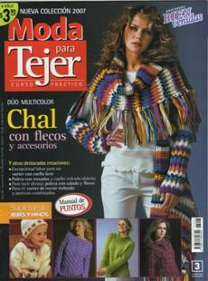 Moda Para Tejer №3 2007