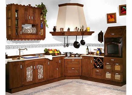 Caracteristicas del estilo rustico top deco - Cocinas de obra rusticas ...