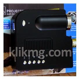 Multimedia LED Projector 20 s/d. 80 Inch - Kode Barang : A0014 ( Proyektor untuk membuat Studio di Rumah lebih terjangkau )
